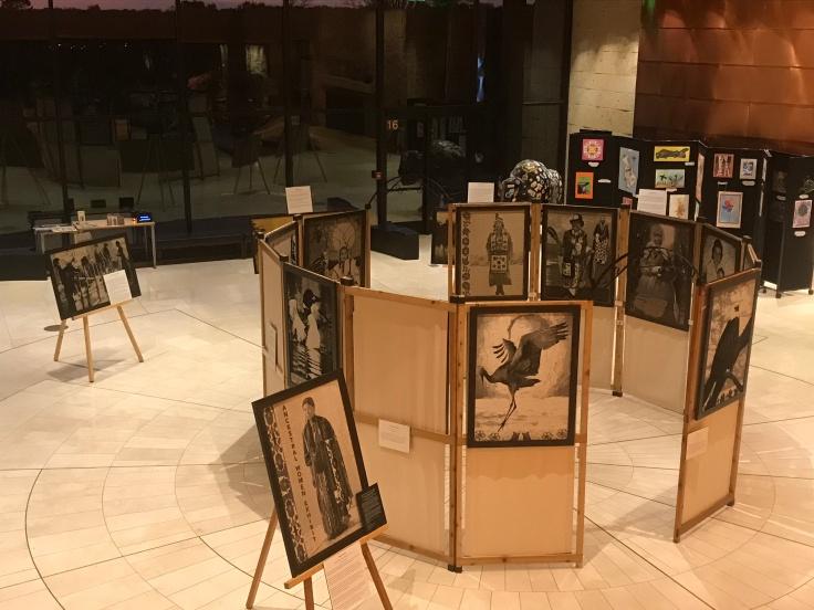 Indian Community School exhibit